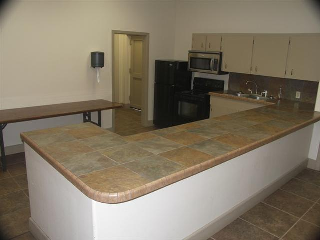Community Center kitchen