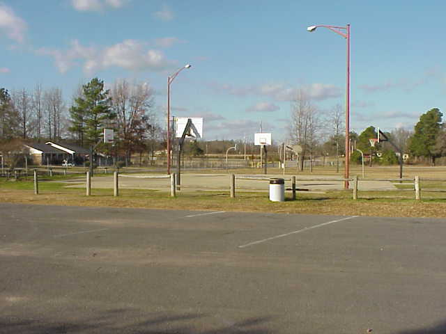 Northside basketball courts